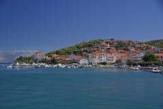 Île Ciovo, Croatie photographie stock libre de droits