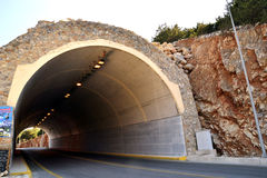 Île Crète de tunnel Photo libre de droits