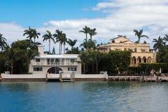 Île d'étoile dans la ville de Miami Photographie stock libre de droits