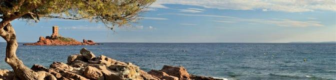 Île D'Or Arkivfoton
