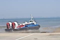 Île d'aéroglisseur de Wight Images stock