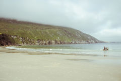 Île d'Achill Photo stock
