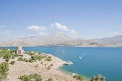 Île d'Akdamar Photographie stock