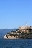 Île d'Alcatraz à San Francisco la Californie Image libre de droits