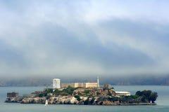 Île d'Alcatraz Photos libres de droits