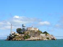 Île d'Alcatraz Photographie stock libre de droits