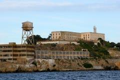 Île d'Alcatraz, San Francisco, la Californie. Image libre de droits