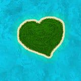 Île d'amour illustration libre de droits