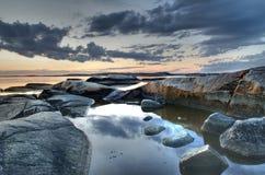 île d'Amund Images stock