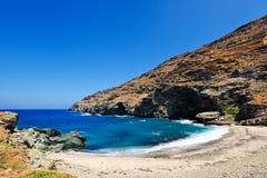 Île d'Andros, Grèce Photographie stock libre de droits