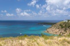 Île d'Anguilla, des Caraïbes Image stock