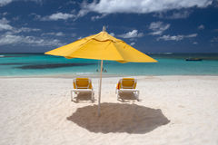 Île d'Anguilla, des Caraïbes Photographie stock