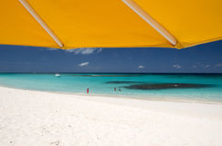 Île d'Anguilla, des Caraïbes Images stock