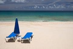 Île d'Anguilla, des Caraïbes Images libres de droits