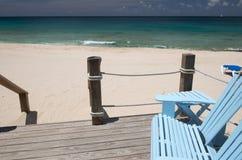 Île d'Anguilla, des Caraïbes Image libre de droits