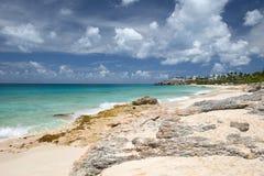 Île d'Anguilla, des Caraïbes Photos stock