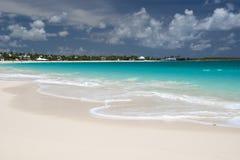 Île d'Anguilla, des Caraïbes Photo libre de droits
