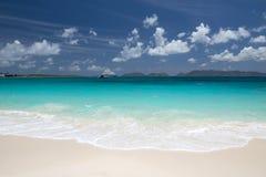 Île d'Anguilla, des Caraïbes Photo stock