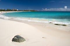 Île d'Anguilla, des Caraïbes Photos libres de droits