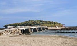 Île d'Aoshima photographie stock