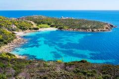 Île d'Asinara en Sardaigne, Italie images stock