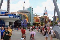 Île d'aventure à Orlando, la Floride Photos stock