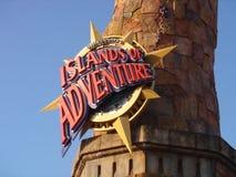 Île d'aventure Photographie stock