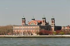 Île d'Ellis, New York Photographie stock