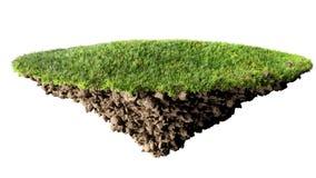 Île d'herbe illustration libre de droits