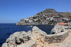 Île d'hydre en Grèce Photo stock