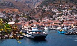 Île d'hydre, Grèce Image libre de droits