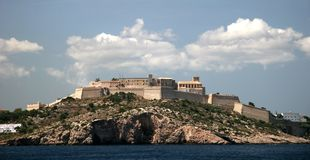 Île d'Ibiza Photo libre de droits