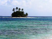 Île d'isolement Photo stock