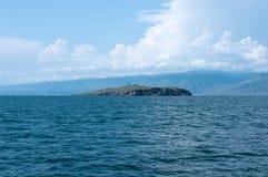 Île d'Ogoy, lac Baikal Photos stock