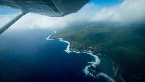 Île d'oiseau de Saipan Photographie stock libre de droits