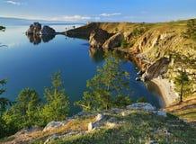 Île d'Olkhon au lac Baikal Photographie stock