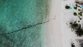 Île d'Ukulhas, Maldives banque de vidéos