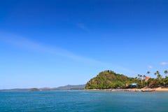 Île dans Krabi de Thaïlande Photographie stock libre de droits