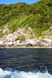 île de baie de littoral de kho de l'Asie Image libre de droits