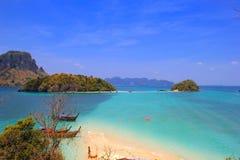 Île de baquet Photos stock