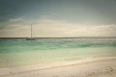 Île de Beachcomber Photographie stock libre de droits