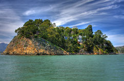 Île de belvédère photos stock