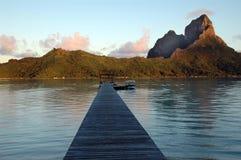 Île de Bora Bora photographie stock libre de droits