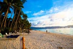 Île de Boracay image libre de droits