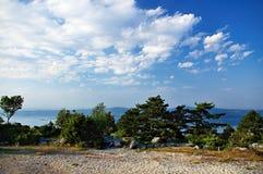 Île de Brac Photographie stock libre de droits