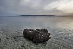 Île de Brac Croatie Photos stock