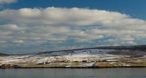 Île de Bressay, une des Îles Shetland Image libre de droits