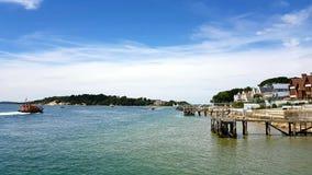 Île de Brownsea, Dorset, R-U Image stock
