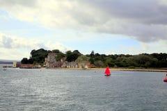 Île de Brownsea, Poole images stock