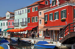 Île de Burano Photos stock